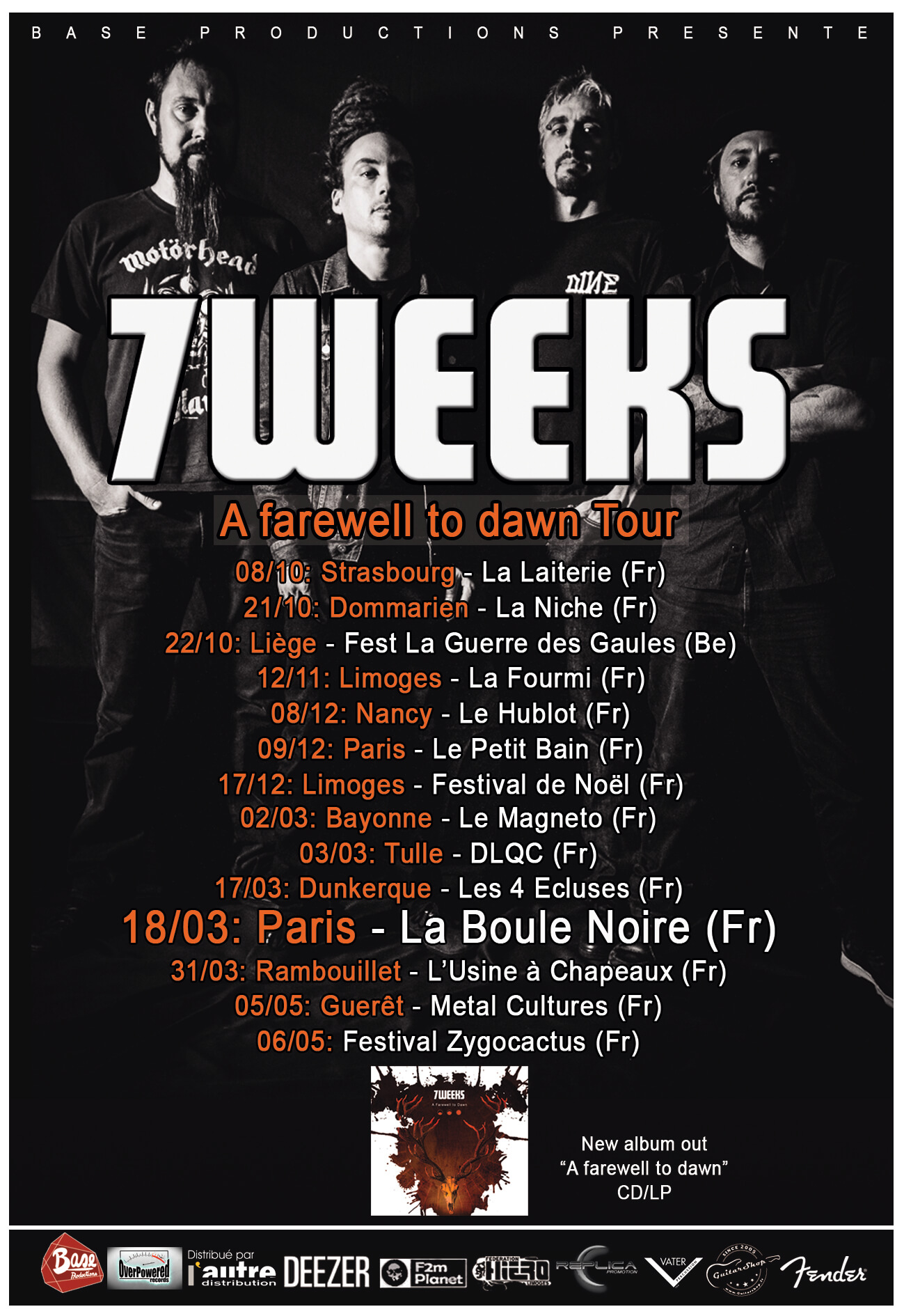 7weeks tour