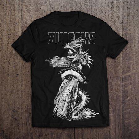 "T-shirt 7 Weeks modèle ""Dragon"""