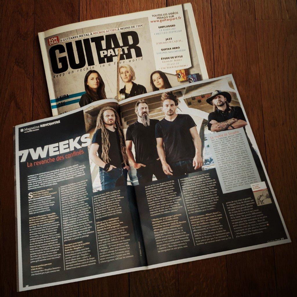Interview Guitar Part magazine 2021