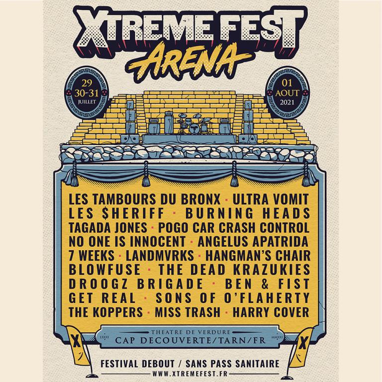 Affiche Xtreme fest 2021